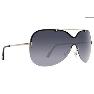Tom Ford Shield Style Grey Gradient Lens